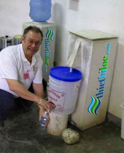 Tự làm bể lọc nước